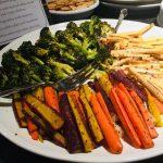 vegetarian vegan retreat food